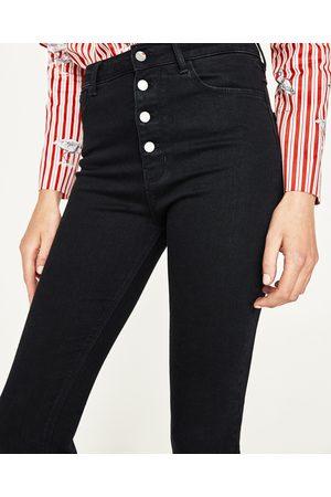 Donna Jeans a vita alta - Zara JEANS VITA ALTA CON BOTTONI