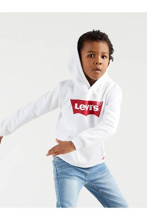 Levi's Kids Batwing Screenprint Hoodie / White