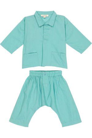 Caramel Baby - Camicia e pantaloni Manta Ray in cotone