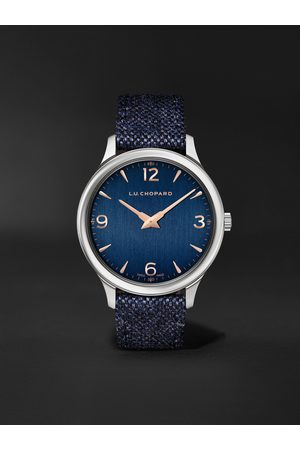 Chopard L.U.C XP Automatic 40mm Stainless Steel and Merino Wool Watch, Ref. No. 168592-3002