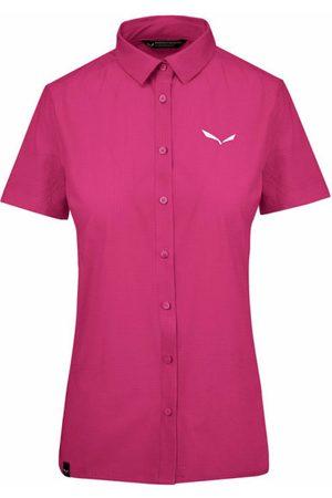 Salewa Puez Minicheck2 Dry - camicia a maniche corte - donna