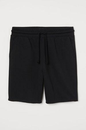 H&M Shorts in felpa Regular Fit - Nero