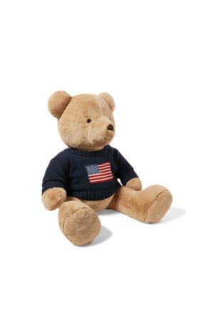 Ralph Lauren Polo Bear grande con maglia con bandiera