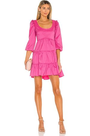 LIKELY Avena Dress in - Pink. Size 0 (also in 2, 4, 6, 8).