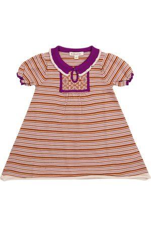 Caramel Neonati Vestiti - Baby - Abito Narwhale a righe in lana merino