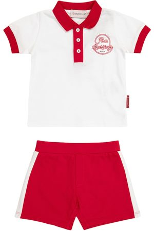 Moncler Pantaloncini - Baby - Polo e shorts in cotone
