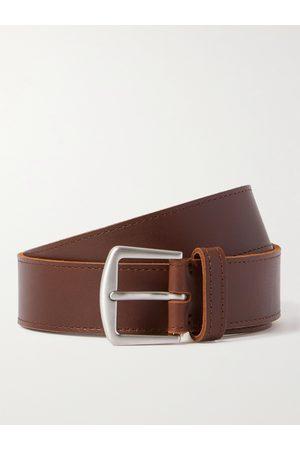 Loro Piana Uomo Cinture - 3.5cm Leather Belt