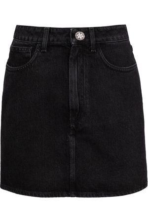 Alessandra Rich Minigonna di jeans