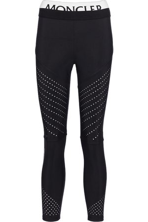 Moncler Leggings in jersey stretch