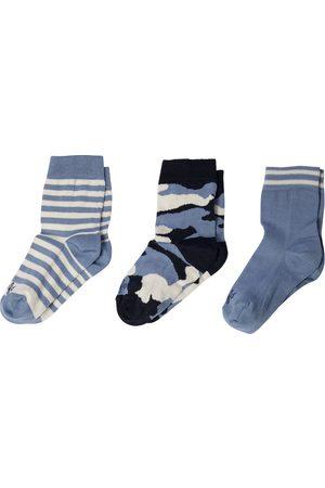 Il gufo Set di 3 calzini in cotone