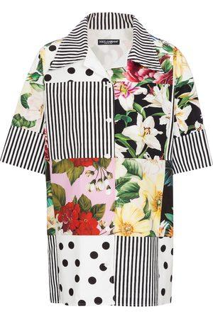 Dolce & Gabbana Camicia a stampa in cotone