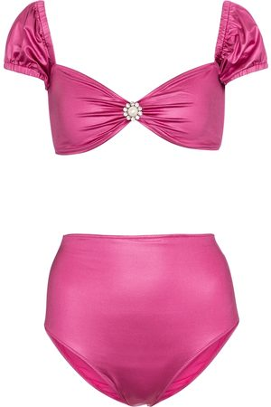 Alessandra Rich Bikini a vita alta