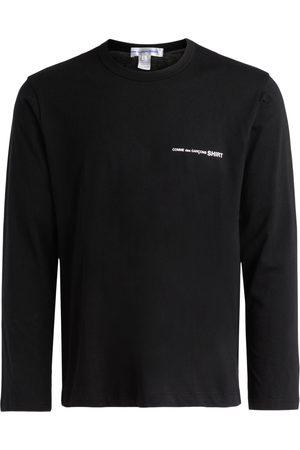 Comme des Garçons T-Shirt a manica lunga nera