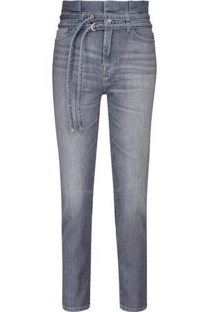 7 for all Mankind Jeans Slim Paperbag a vita alta