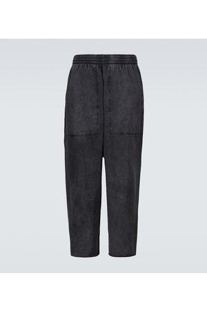 Balenciaga Uomo Pantaloni - Pantaloni sportivi in cotone