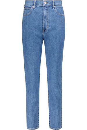 SLVRLAKE Donna Jeans a vita alta - Jeans slim Beatnik a vita alta cropped