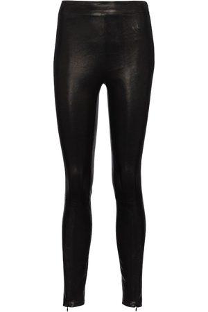 J Brand Donna Leggings & Treggings - Leggings Octavia in pelle