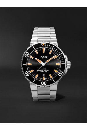 Oris Uomo Orologi - Aquis Date Automatic 43.5mm Stainless Steel Watch, Ref. No. 01 733 7730 4159-07 8 24 05PEB