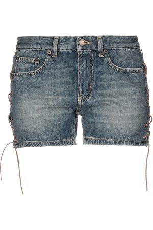 Saint Laurent Donna Pantaloncini - JEANS - Shorts jeans