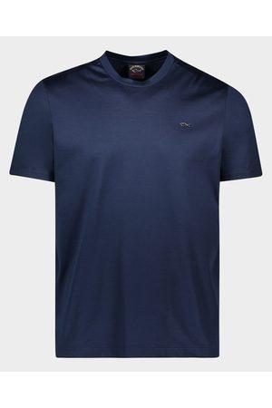 Paul & Shark T-Shirt in cotone organico con squaletto metallico