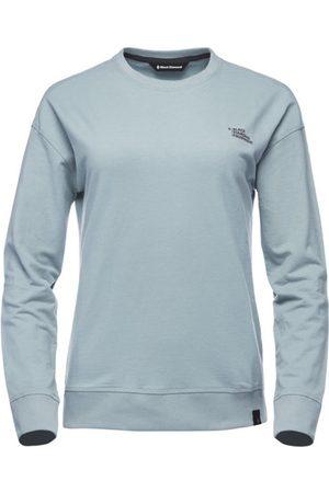 Black Diamond W Ridge Logo Crew - maglione - donna. Taglia L