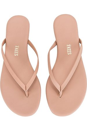 Tkees Vegan Matte Lily Flip Flop in - Nude. Size 10 (also in 5, 6, 7, 8, 9).