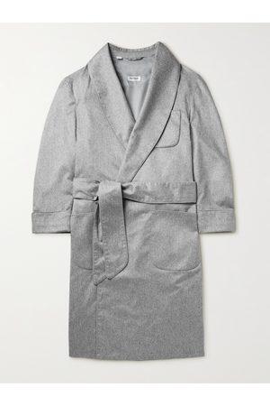 Paul Stuart Piped Cashmere Robe