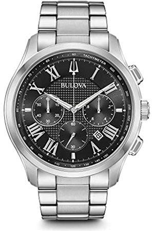 BULOVA Orologio Cronografo Quarzo Uomo con Cinturino in Acciaio Inox 96B288
