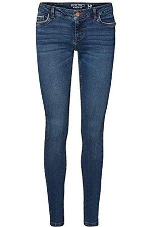 NAME IT NMEVE LW Pocket Piping Jeans VI877 Noos Slim, Blu , W27/L30 Donna