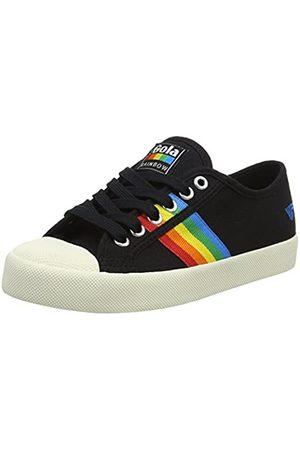 Gola Coaster Rainbow, Sneaker Donna, Nero , 40 EU