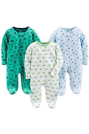 Simple Joys by Carter's Baby - Confezione da 3 pacchi per bambini ,Sports/Cars/Dino ,US NB