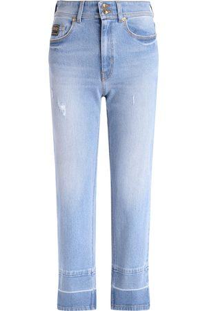 VERSACE Jeans in denim azzurro