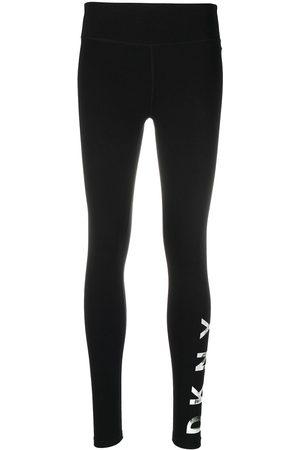 DKNY Pantaloni sportivi con vita media