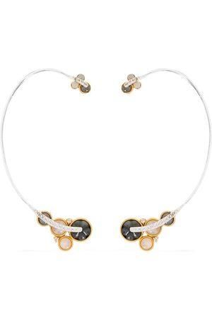 AKANSHA SETHI Ear cuff CLOUD in 18kt con diamante