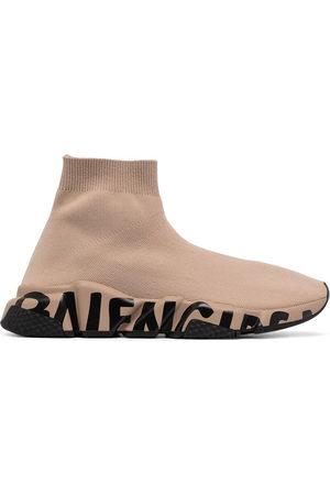 Balenciaga Donna Sneakers - Sneakers Speed con stampa graffiti