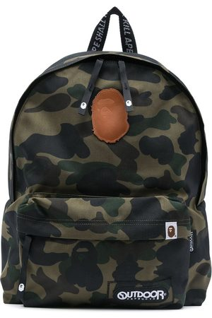 A Bathing Ape Zaino con stampa camouflage