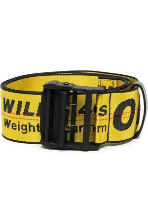 OFF-WHITE Cintura Industrial con logo