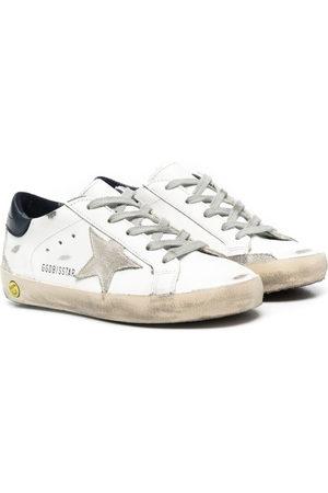 Golden Goose Bambino Sneakers - Sneakers Superstar con effetto vissuto
