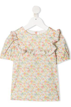 BONPOINT Bambina Bluse - Blusa a fiori