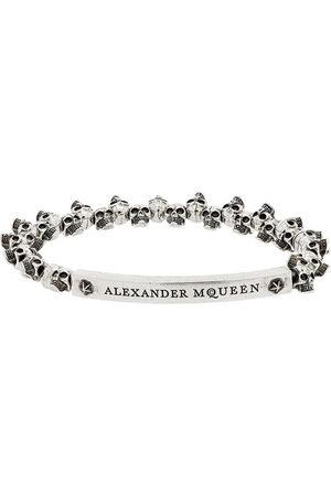 Alexander McQueen Uomo Bracciali - Bracciale con mini teschi