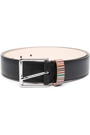 Paul Smith Uomo Cinture - Cintura con riga a contrasto