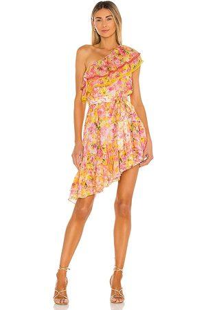ROCOCO SAND Nesh Mini Dress in - Pink, . Size L (also in XS, S, M).