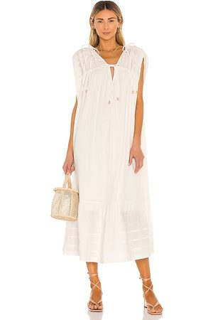 Free People Donna Vestiti longuette - In The Mood For This Midi Dress in - . Size L (also in XS, S, M).