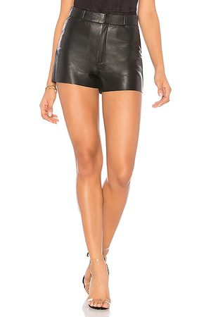 LaMarque Garnet Leather Shorts in - . Size 0 (also in 4, 6, 8).