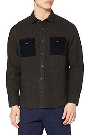 FIND Marchio Amazon - Camicia Utility Uomo, , S, Label: S