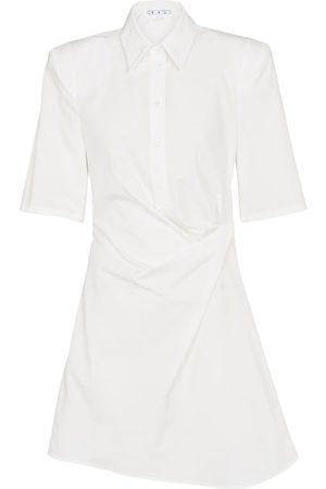OFF-WHITE Miniabito in cotone