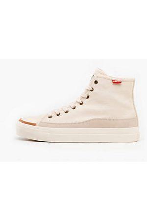 Levi's Donna Scarpe - Square High Shoes / Ecru