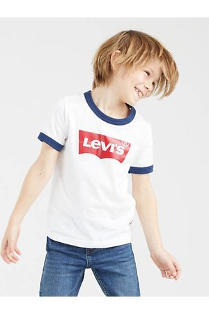 Levi's Kids Batwing Ringer Tee / White