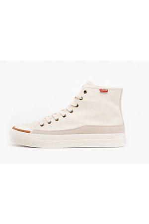 Levi's Uomo Scarpe - Square High Shoes / Ecru