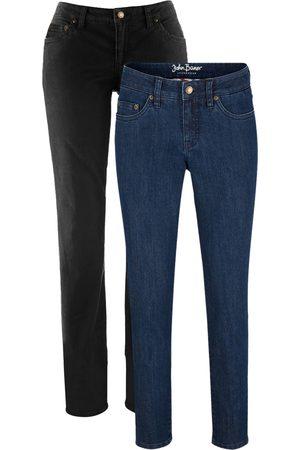 John Baner Donna Skinny - Jeans elasticizzati cropped skinny (pacco da 2)